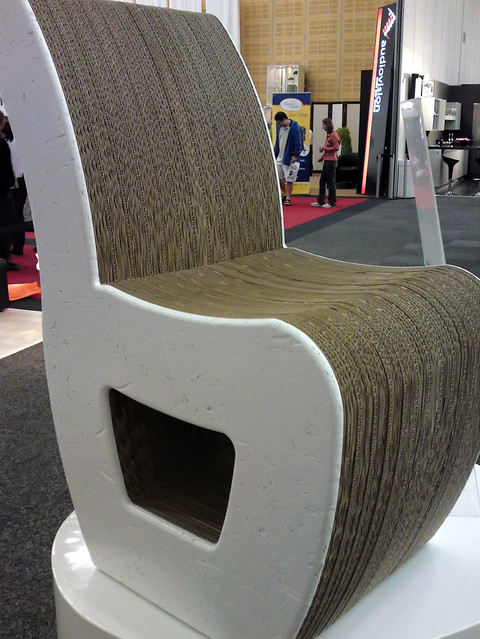 Cardboard Chair Chair Made From Laminated Recycled