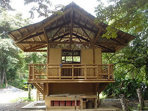 Rumah bambu flickr photo sharing for Small rest house designs in philippines