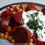 Warmer Kichererbsensalat mit Chorizo und Paprika