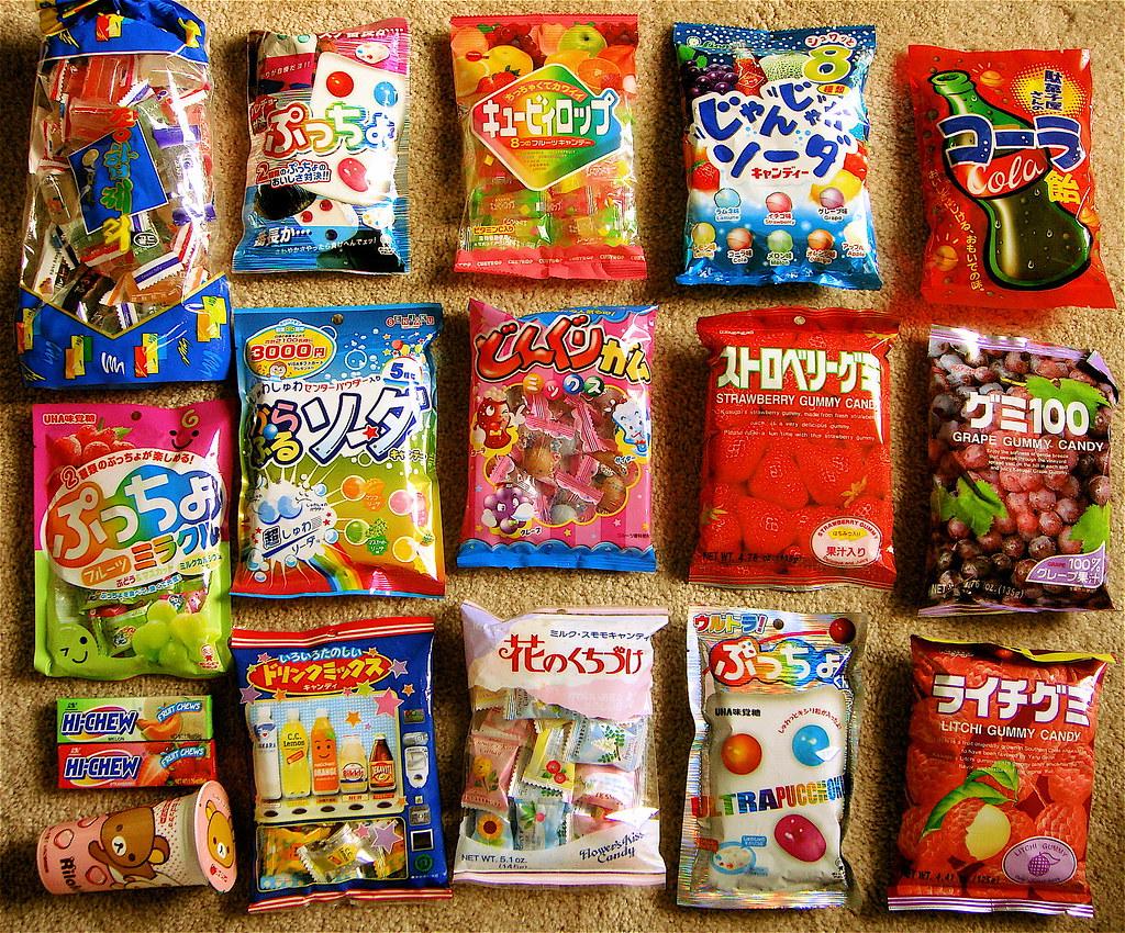 Best asian candy