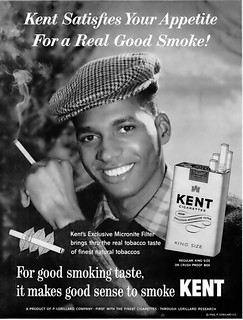 Who Is This Model?? Anyone Know?  Let Me Know!  - Kent Cigarettes with Micronite Filter Advertisement - Ebony Magazine, March, 1960