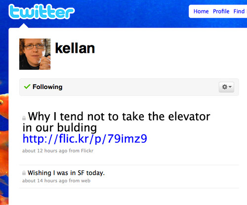 Flickr 2 Twitter by kellan