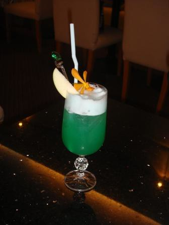 Green Angel cock tail