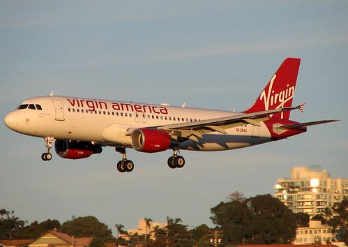 Virgin America N638VA