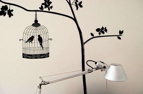 Tolomeo light with birds