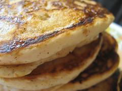 produce(0.0), breakfast sandwich(0.0), meal(1.0), breakfast(1.0), hotteok(1.0), food(1.0), dish(1.0), cuisine(1.0), pancake(1.0),