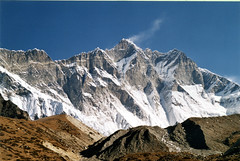 Lhotse South Face ~ Lhotse  8516m is the 4th hightest Mountain on our planet.