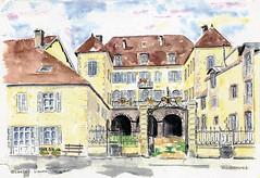 Orgelet - L'hôtel Babey
