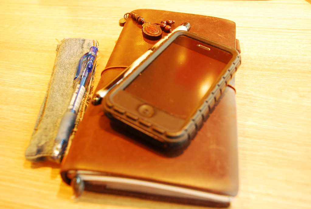 Traveler's Notebook on 15072009