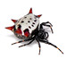 Gasteracantha cancriformis - spiny backed orbweaver