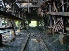 Huber Breaker railcar loading