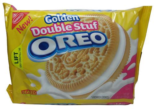Review Golden Double Stuf Oreo The Impulsive Buy