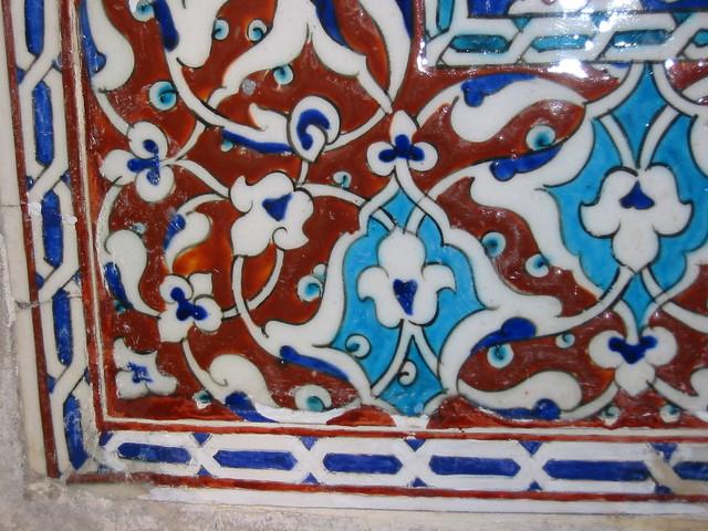 Ayasofya Müzesi 2. Selim Türbesi çini restorasyonu