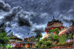 Depiction of the Taoist Temple