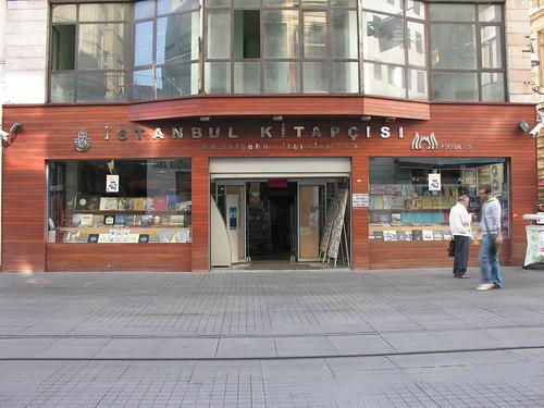 Nice bookshops in Istanbul - İstanbul kitapçısı