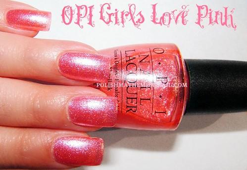 OPI Girls Love Pink