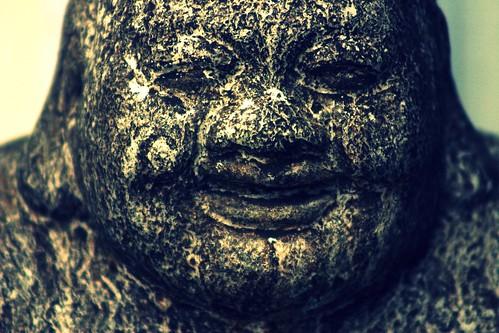 smile face statue stone mouth nose eyes mac cross buddha faced process soe reddin edgedonkey