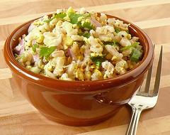 Barley & Tofu salad