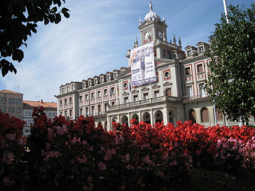 El edificio del Ayuntamiento de Ferrol