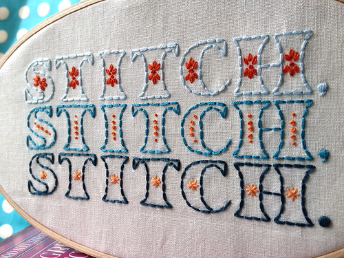 Always Stitching!