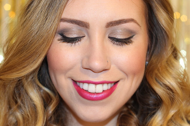 Using Smashbox Full Exposure Palette on Living After Midnite Makeup Monday