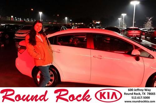 Thank you to Elizabeth Machado on your new 2013 #Kia #Rio from Roberto Nieto and everyone at Round Rock Kia! #NewCar by RoundRockKia