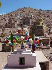 Hillside Cemetery - Maimara - Near Tilcara - Argentina 01