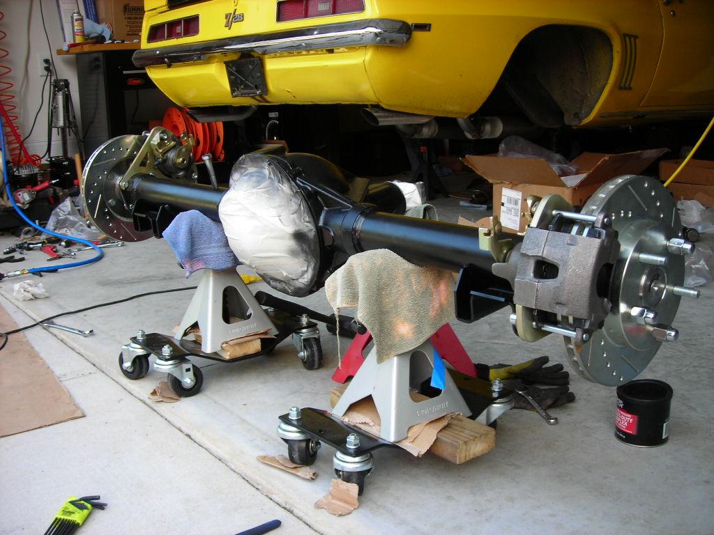 Right Stuff Disc Brake Conversion Team Camaro Tech