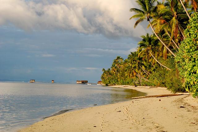 Indonesia - Sunset in paradise.