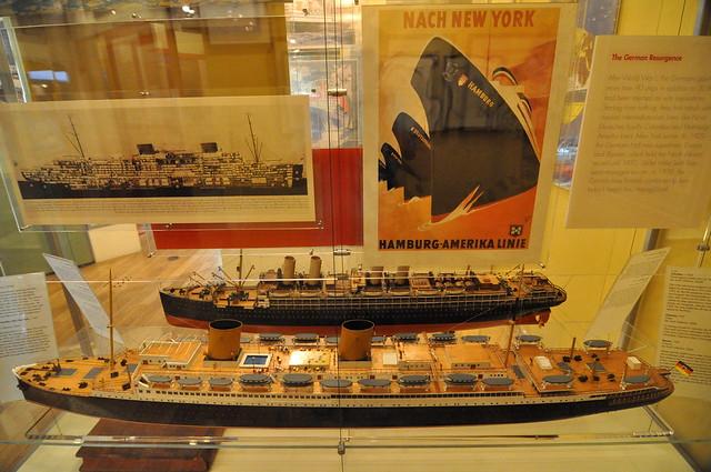 Hamburg America Line Models