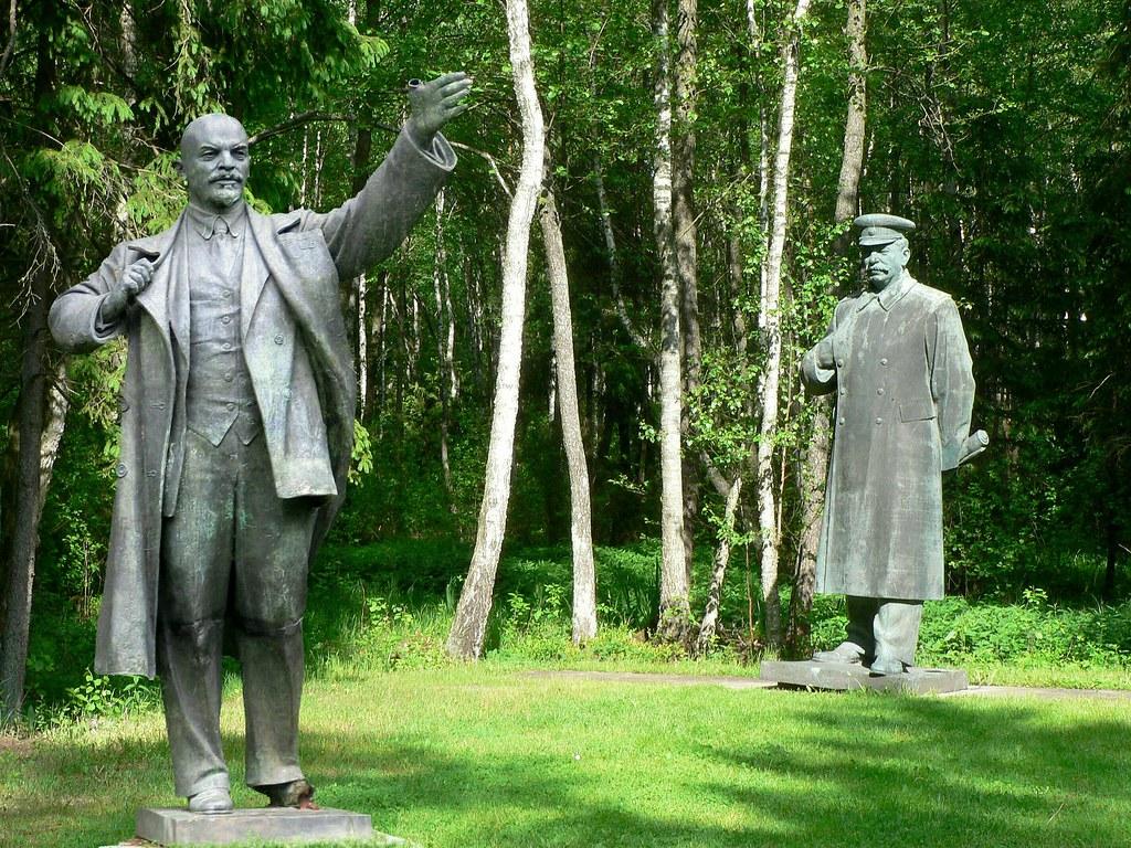 153 Grutas Park - Lenin und Stalin