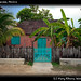 Old house in Bacalar, Mexico