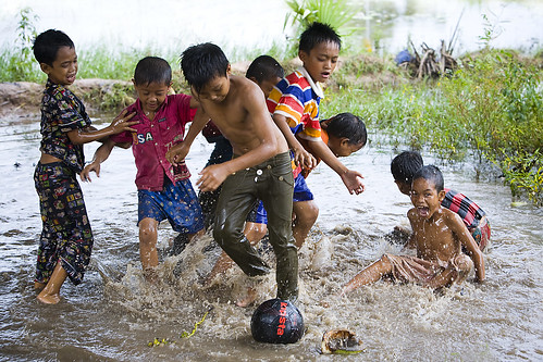 Cambodian soccer
