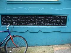 Paranoid existentialist chalkboard