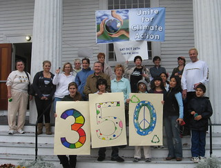 350 Day of Action in Foxborough, Mass. USA