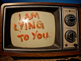 I am lying to you.