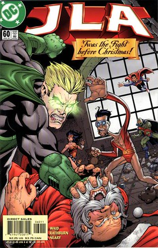 Twas The Fight Before Christmas.Jla 60 2002 Twas The Fight Before Christmas Used In