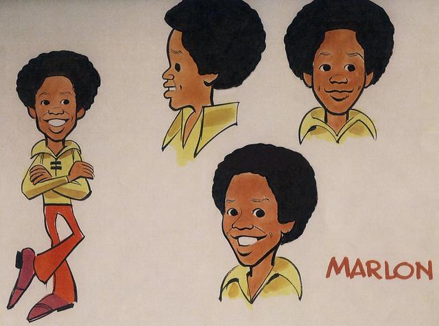 Marlon Jackson Model Sheet