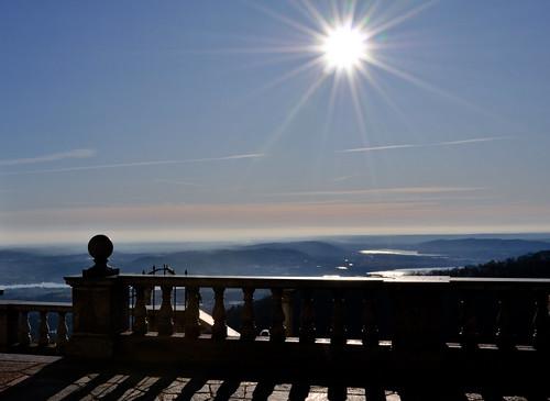 sky panorama sun lake clouds landscape lago nikon nuvole view cielo vista sole lombardia varese controluce ohhh riflesso orizzonte terrazza d90 padania 21100 nikond90 sacromontedivarese albitai