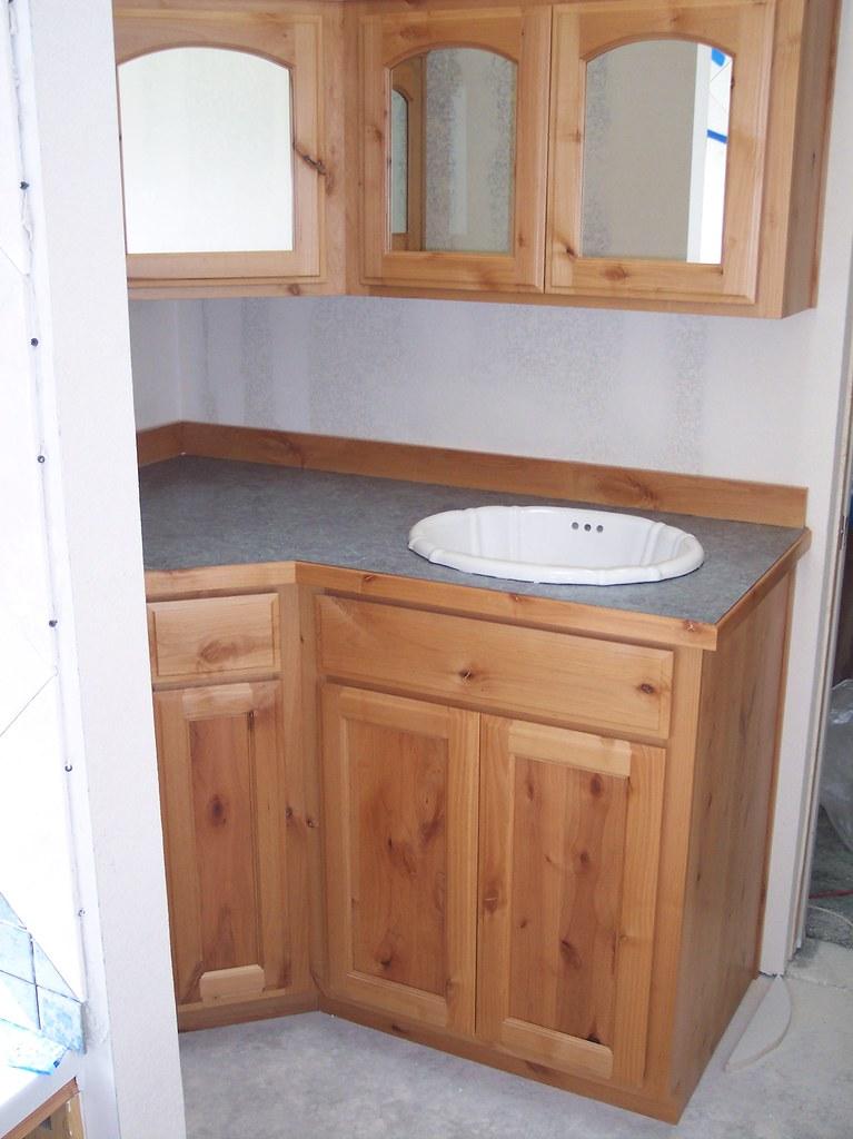 Knotty Alder Bathroom Cecilio