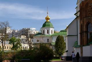 Attēls no Saint Sophia Cathedral pie Kiev. city spring may ukraine kiev киев город весна май украина 2013 софийскийсобор saintsophiacathedral