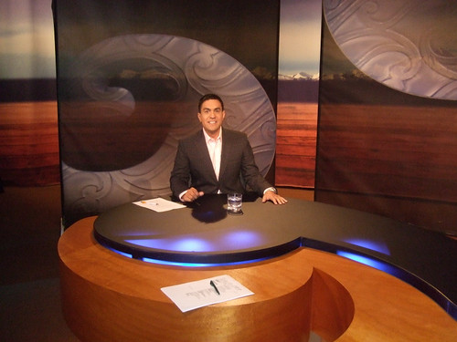 Maori TV Native Affairs; Julian Wilcox