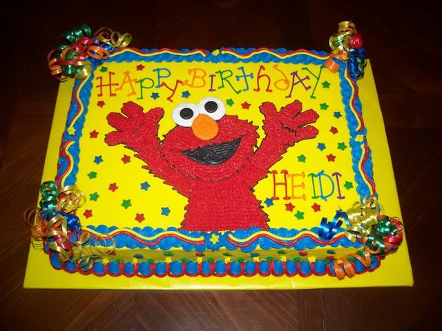 Images Of Elmo Birthday Cakes : Elmo Birthday cake Flickr - Photo Sharing!