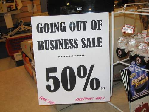 puck n stein going out of business sale 50 off now