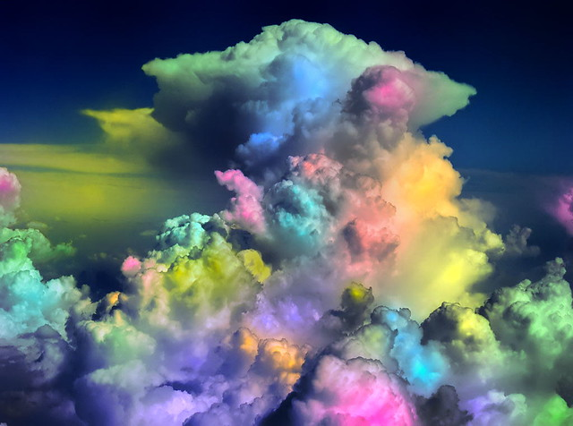 Cotton Candy Clouds I ...