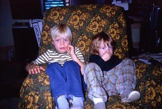 Cousin Rhys Williams and Geoffrey