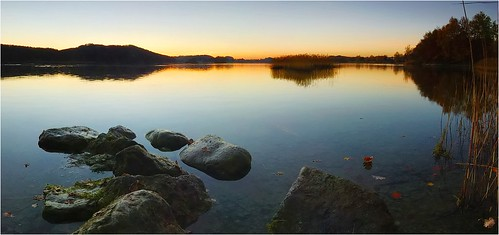 sunset summer panorama lake nature water germany landscape bayern deutschland bavaria evening abend nikon wasser sommer herbst natur oberbayern dämmerung countyside
