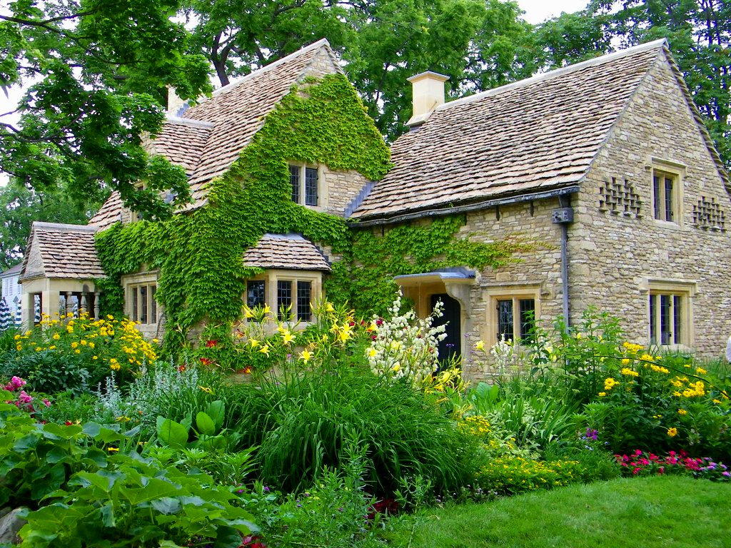 Cotswold cottage a photo on flickriver for Cottage anglais