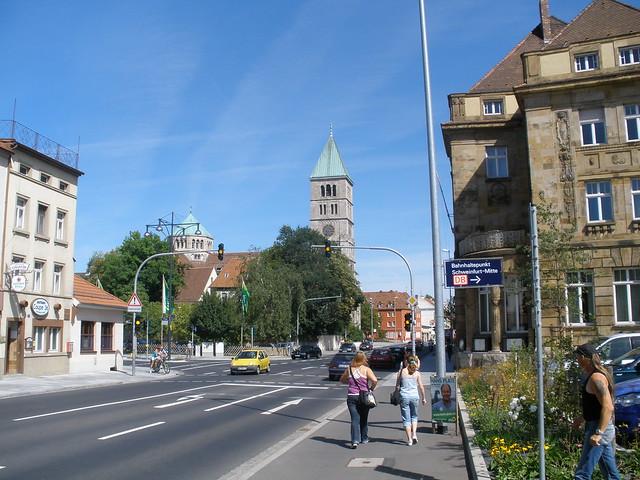 Schweinfurt Germany  City pictures : Schweinfurt, Bavaria, Germany, Heilig Geist Kirche, chiesa Spirito ...