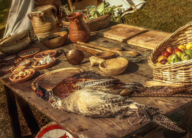 Anglo Saxon Food And Drink